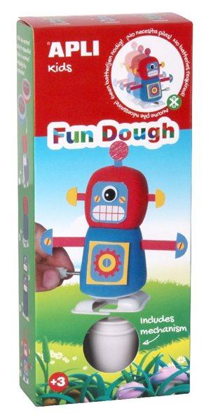 Modelovací sada FUN DOUGH - Robot modrý (chodící)