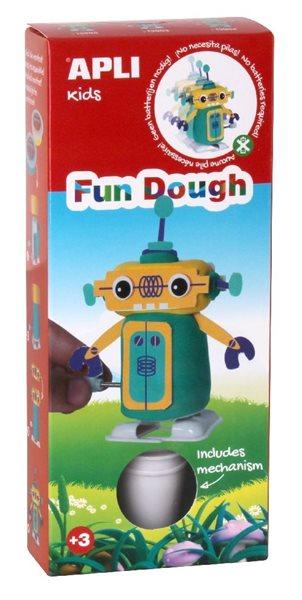 Modelovací sada FUN DOUGH - Robot zelený ( chodící )
