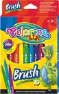 Štětcové fixy Colorino - 10 barev
