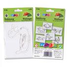 Papírové šablony - Zvířátka - 6 ks