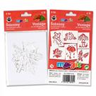 Papírové šablony - Podzim - 6 ks