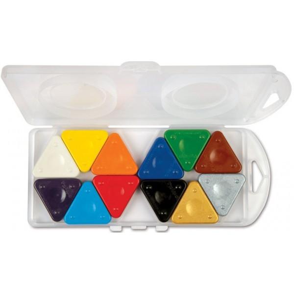 Sada magických voskovek, 12ks v plastové krabičce