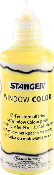 Barva na sklo STANGER 80 ml, žlutá