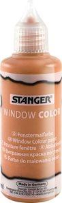 Barva na sklo STANGER 80 ml, hnědá