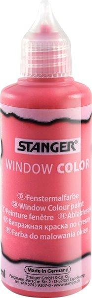 Barva na sklo STANGER 80 ml, červená