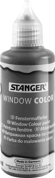 Barva na sklo STANGER 80 ml, šedá