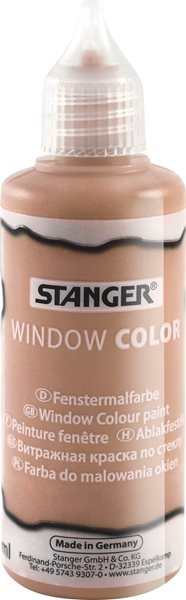 Barva na sklo STANGER 80 ml, měděná
