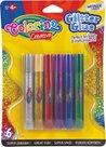 Dekorační lepicí pero Colorino - Glitter, 6 barev