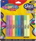 Barvy na sklo Colorino, 8 barev, včetně 2 neonových