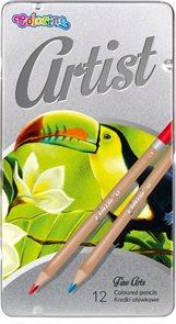 Colorino Artist Pastelky dřevěné - 12 barev
