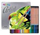 Colorino Artist Pastelky dřevěné - 24 barev