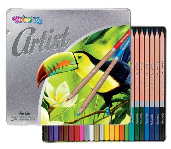 Colorino Artist Pastelky dřevěné