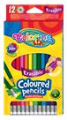 Pastelky Colorino gumovací - 12 barev