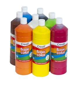 Sada temperových barev Creall, 8 x 1 litr