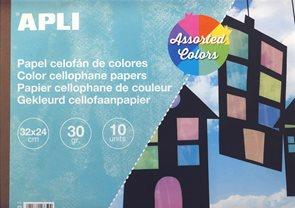 APLI Celofánová folie 30g - mix barev