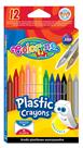 Voskové pastelky Colorino - 12 barev + pryž