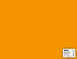 APLI sada barevných papírů, A2+, 170 g, oranžový - 25 ks
