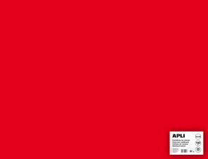 APLI sada barevných papírů, A2+, 170 g, červený - 25 ks