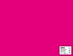 APLI sada barevných papírů, A2+, 170 g, fuchsiový - 25 ks