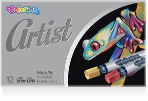 Colorino Artist metalické olejové pastely - 12 barev