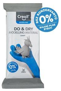 Creall Samotvrdnoucí modelovací hmota DO&DRY - 500 g, šedý cement