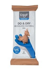 Creall Samotvrdnoucí modelovací hmota DO&DRY - 1000 g, terakota