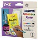 Centropen Decor pen Pastel 2738/7+2