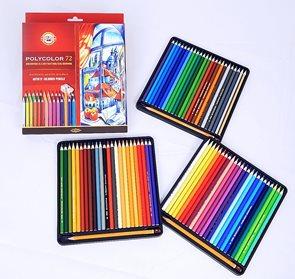 Umělecké pastelky Koh-i-noor POLYCOLOR 3837 - 72 ks