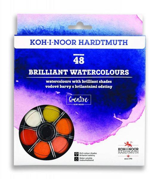 Koh-i-noor brilantní vodové barvy (anilinky)