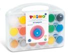 Temperové barvy PRIMO - dárková sada 18 x 25 ml (BASIC, METALÍZA, FLUO)