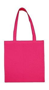 Textilní taška k domalování - fuchsiová