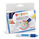 Voskové pastelky na bílé tabule PRIMO - 9 x 80 mm, sada 8 ks