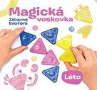 """Kniha """"MAGICKÁ VOSKOVKA"""", díl 2 """"LÉTO"""" (inspirace+voskovky+výseky)"""