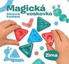 """Kniha """"MAGICKÁ VOSKOVKA"""", díl 4 """"ZIMA"""" (inspirace+voskovky+výseky)"""