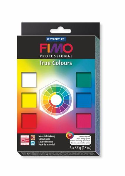 Sada FIMO professional - Základní barvy