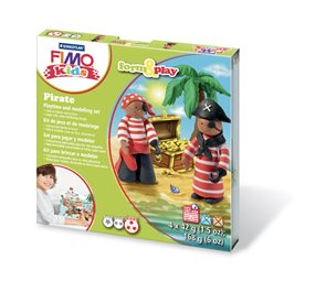 Sada Fimo kids Form & Play Piráti