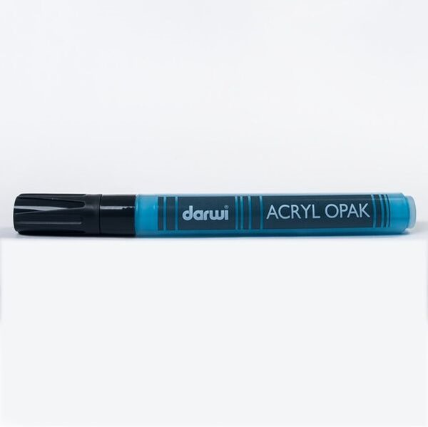 DARWI Akrylová fixa - silná - 6ml/3mm - světle modrá, Sleva 20%