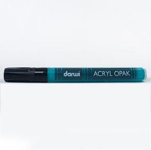 DARWI Akrylová fixa - silná - 6ml/3mm - tyrkysová
