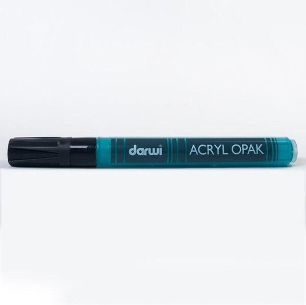 DARWI Akrylová fixa - silná - 6ml/3mm - tyrkysová, Sleva 20%