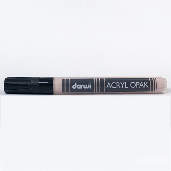 DARWI Akrylová fixa - silná - 6ml/3mm - tělová, Sleva 20%
