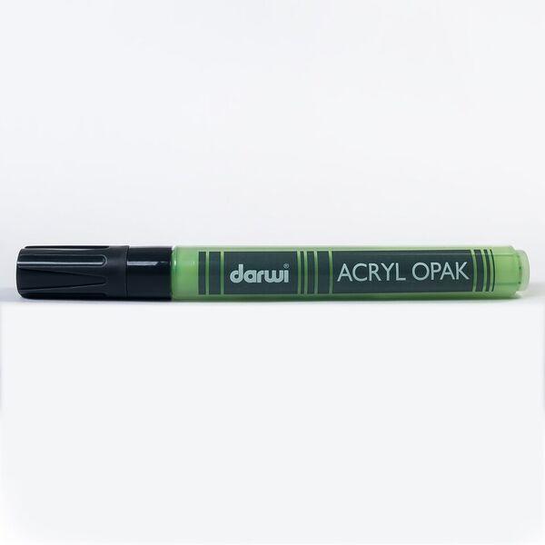 DARWI Akrylová fixa - silná - 6ml/3mm - světle zelená, Sleva 20%