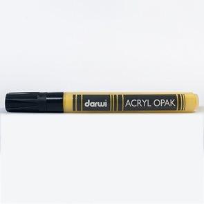 DARWI Akrylová fixa - silná - 6ml/3mm - tmavě žlutá