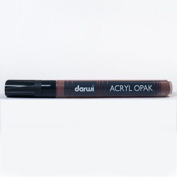 DARWI Akrylová fixa - silná - 6ml/3mm - tmavě hnědá, Sleva 20%
