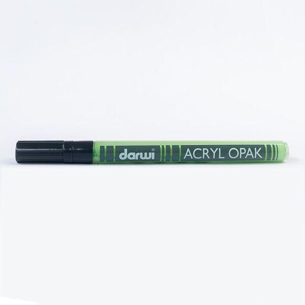 DARWI Akrylová fixa - tenká - 3ml/1mm - světle zelená, Sleva 20%