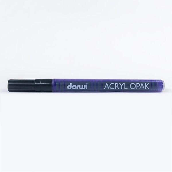 DARWI Akrylová fixa - tenká - 3ml/1mm - fialová, Sleva 20%