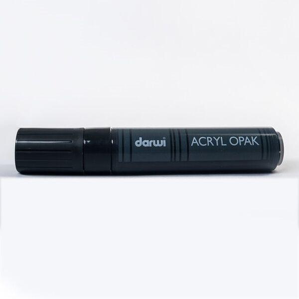 Akrylová fixa Darwi - MAXI - 25ml/15mm - černá