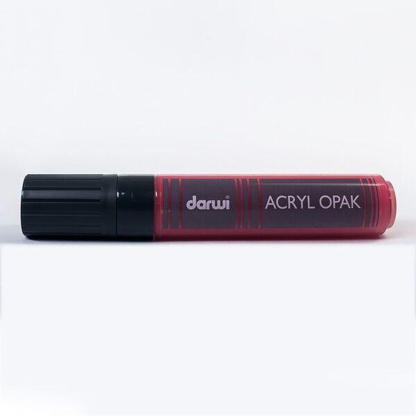Akrylová fixa Darwi - MAXI - 25ml/15mm - rumělková