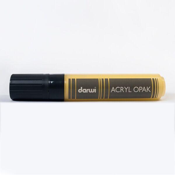 Akrylová fixa Darwi - MAXI - 25ml/15mm - tmavě žlutá
