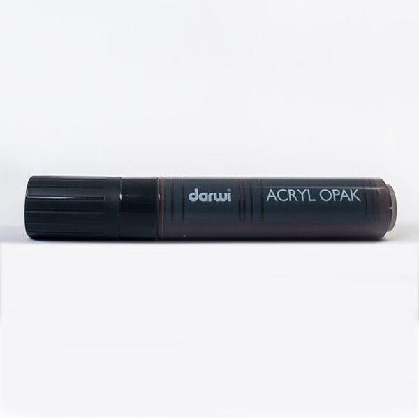 Akrylová fixa Darwi - MAXI - 25ml/15mm - kakaová