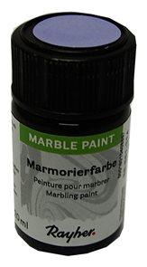 Mramorovací barva Rayher Marble Paint 20 ml - fialová